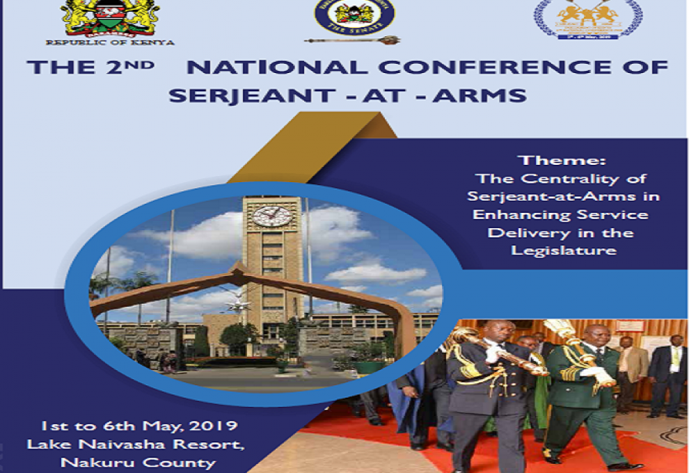 Parliament set to hold its Second National Conference of Sergeant-At