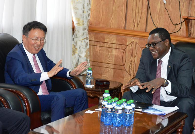 New Chinese envoy to Kenya calls on Senate Speaker